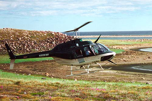 Hudson Bay Helicopters B206